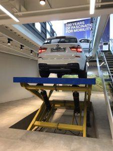 آسانسور خودرو، آسانسور ماشین، قیچی ماشین بر، قیچی خودرو بر