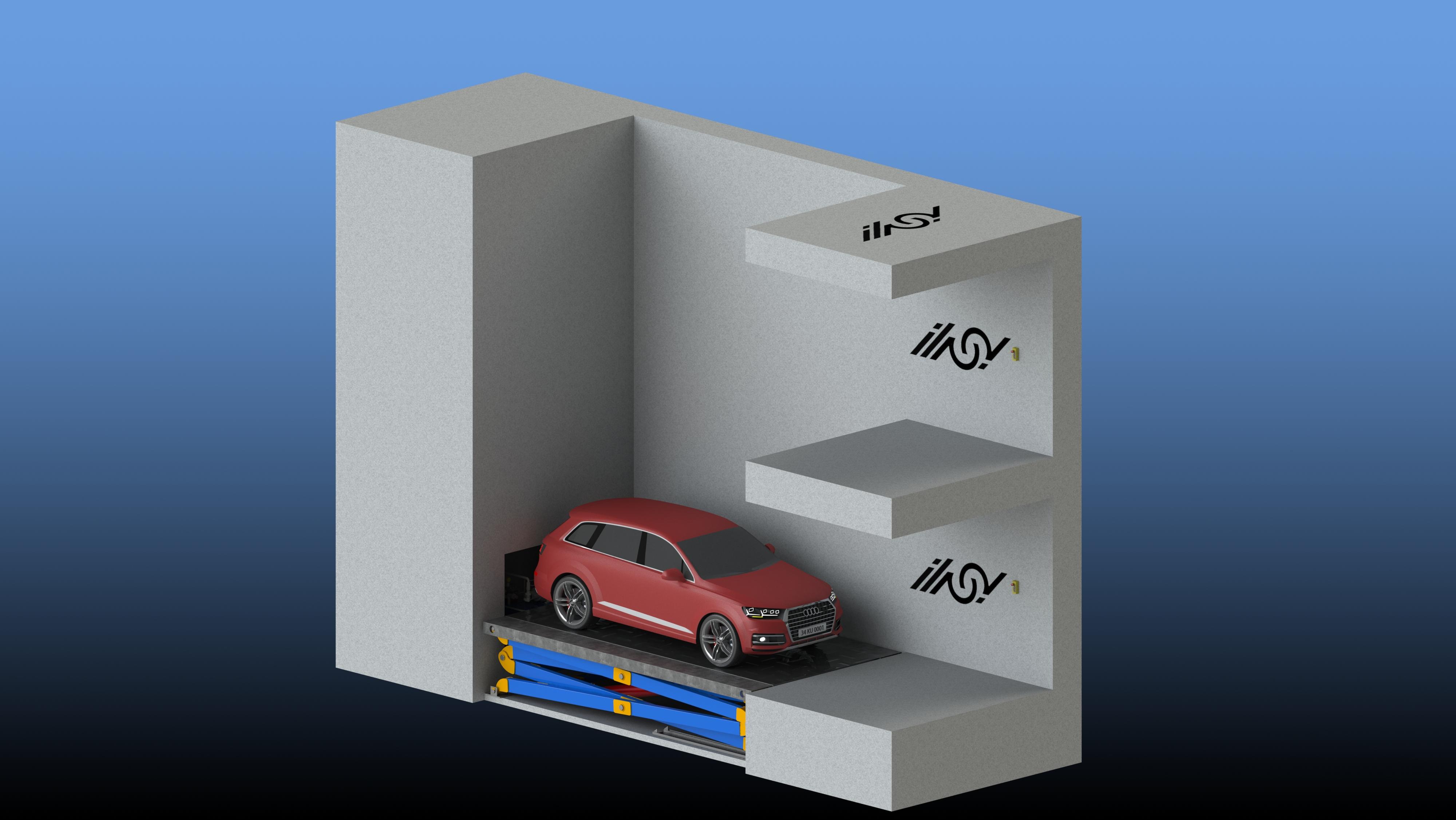 شرکت مهندسی به راز پیشرو در طراحی انواع پارکینگ مکانیزه، پارکینگ هوشمند، آسانسور، آسانسور هیدرولیکی